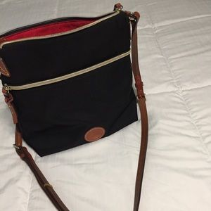 Dooney and Bourke Black Crossbody Bag